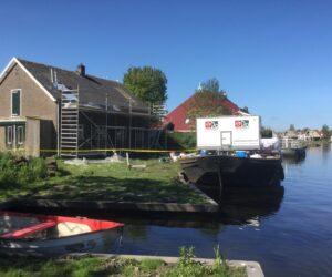 Asbest verwijderen eiland Heeg